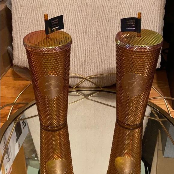 Starbucks Copper Mermaid Limited Edition Venti